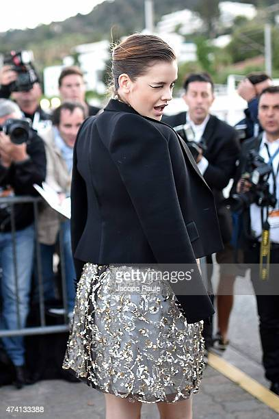 Barbara Palvin is seen on day 8 of the 68th annual Cannes Film Festival on May 20 2015 in Cannes France