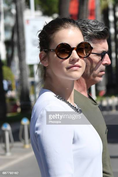 Barbara Palvin is spotted during the 70th annual Cannes Film Festival at on May 24 2017 in Cannes France