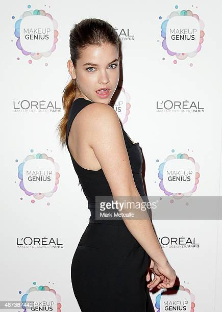 Barbara Palvin poses at the L'Oreal Paris Launch event on March 24 2015 in Sydney Australia