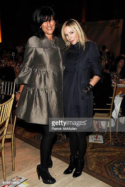 Barbara Putnam and Lauryn Flynn attend The Fashion Group International 'NIGHT OF STARS' 2008 Gala The Alchemists at Cipriani Wall Street on October...