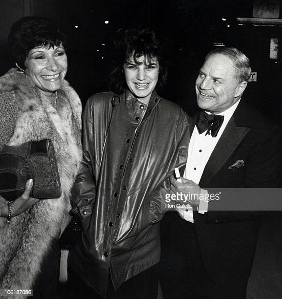 Barbara Rickles daughter and Don Rickles during Don Rickles Sighted at Spago Restaurant at Spago Restaurant in Hollywood California United States