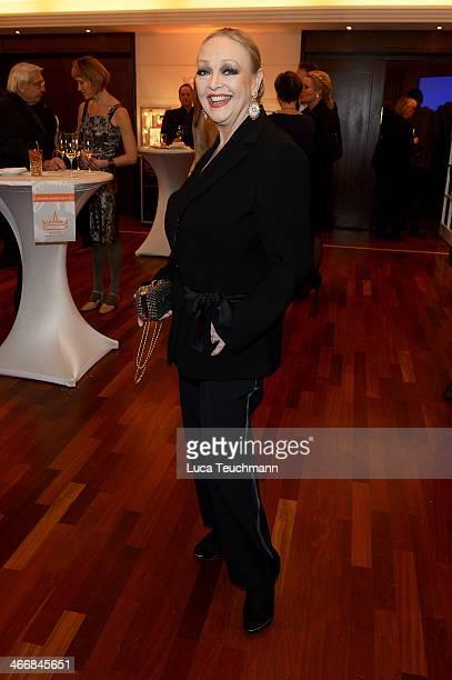 Barbara Schoene attends Askania Award 2014 at Kempinski Hotel Bristol on February 4 2014 in Berlin Germany