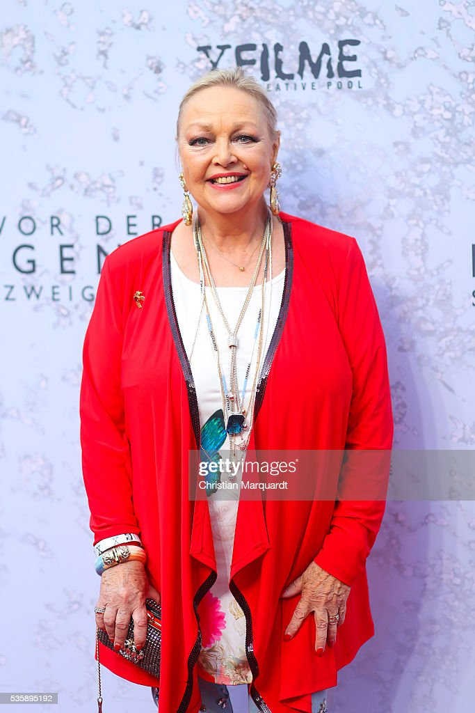 Barbara Schoene attends the movie premiere of 'Vor der Morgenroete - Bevore Dawn' at Delphi Palace on May 30, 2016 in Berlin, Germany.