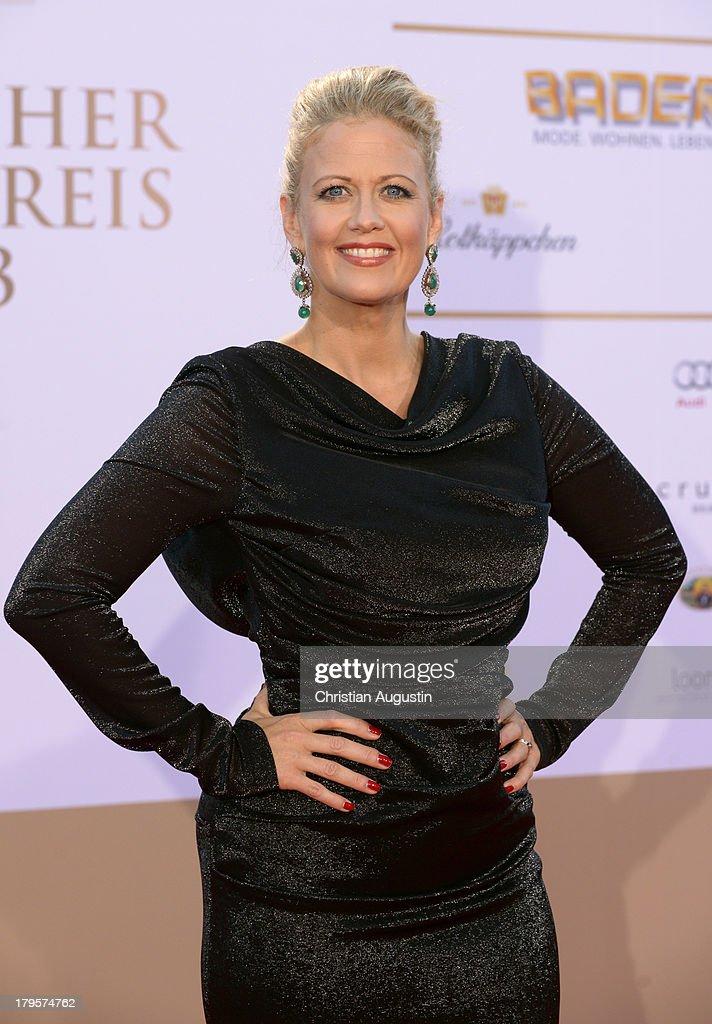 Barbara Schoeneberger attends 'Deutscher Radiopreis' at Schuppen 52 on September 5, 2013 in Hamburg, Germany.