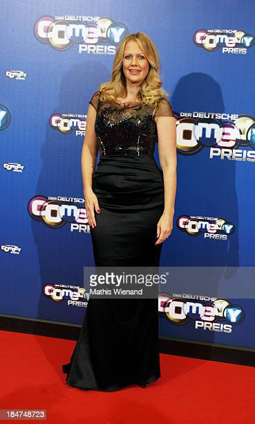 Barbara Schoeneberger attends the 17th Annual of the German Comedy Awards at Coloneum on October 15 2013 in Cologne Germany