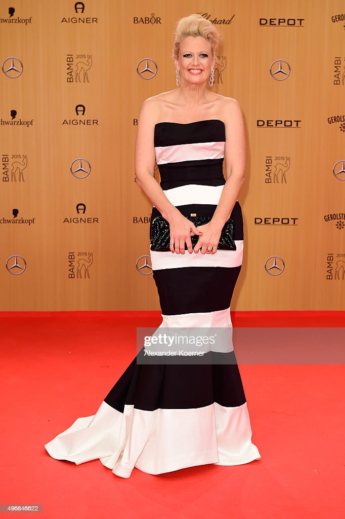 AIGNER At Bambi Awards 2015 - Red Carpet Arrivals