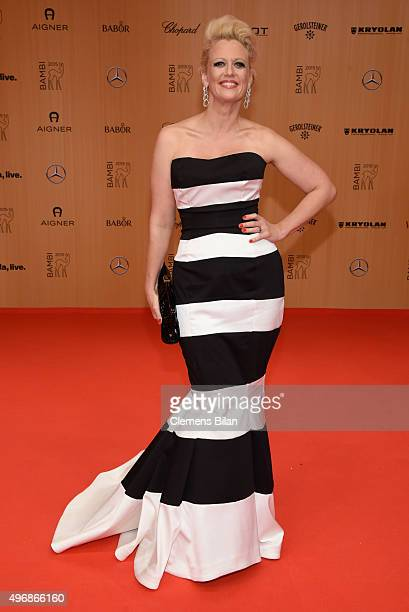 Barbara Schoeneberger attends the Bambi Awards 2015 at Stage Theater on November 12 2015 in Berlin Germany