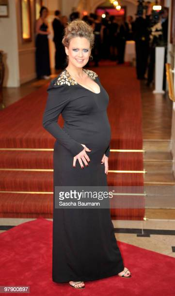 Barbara Schoeneberger attends the Gala Spa Award at Brenner's Park Hotel on March 20 2010 in Baden Baden Germany