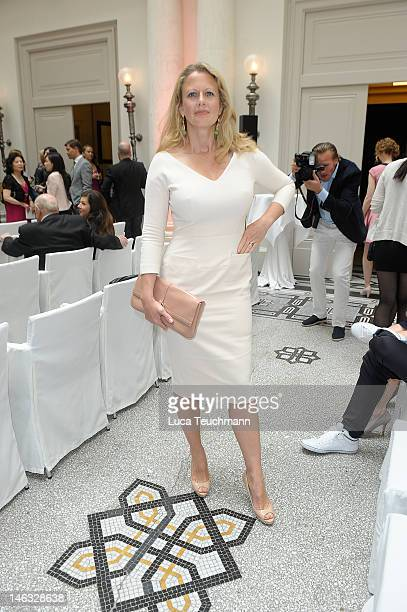 Barbara Schoeneberger attends the Montblanc De La Culture Arts Patronage Awards 2012 at Hotel De Rome on June 14 2012 in Berlin Germany
