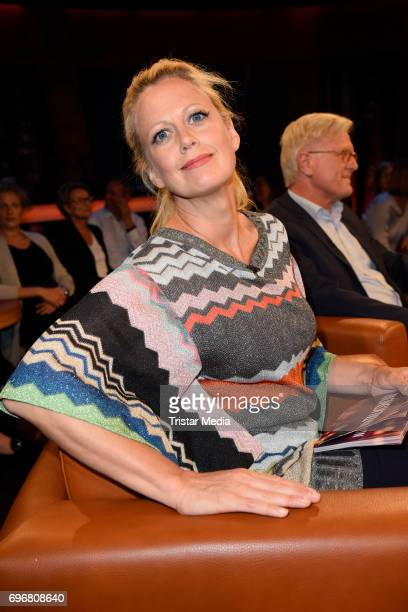 Barbara Schoeneberger attends the NDR Talk Show on June 16 2017 in Hamburg Germany