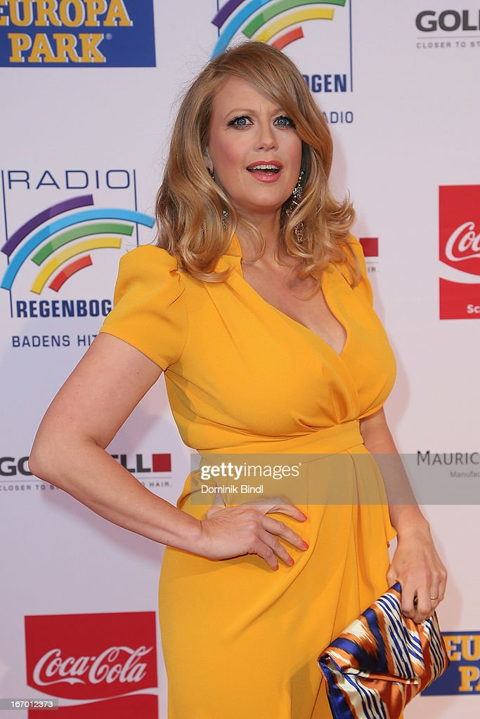 Barbara Schoeneberger attends the Radio Regenbogen Award 2013 at Europapark on April 19, 2013 in Rust, Germany.