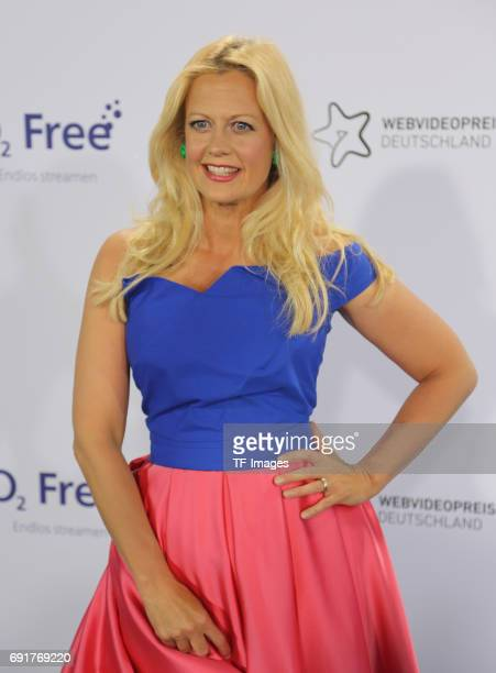 Barbara Schoeneberger attends the Webvideopreis Deutschland 2017 at ISS Dome on June 1 2017 in Duesseldorf Germany