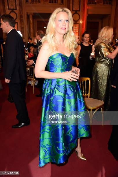 Barbara Schoeneberger during the ROMY award at Hofburg Vienna on April 22 2017 in Vienna Austria