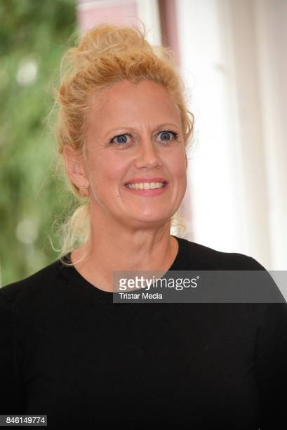 Barbara Schoeneberger during the 'Wie weit wuerdest du gehen' Charity Event on September 12 2017 near Berlin in Usedom Germany