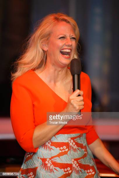 Barbara Schoeneberger is seen during the NDR Talk Show on May 19 2017 in Hamburg Germany