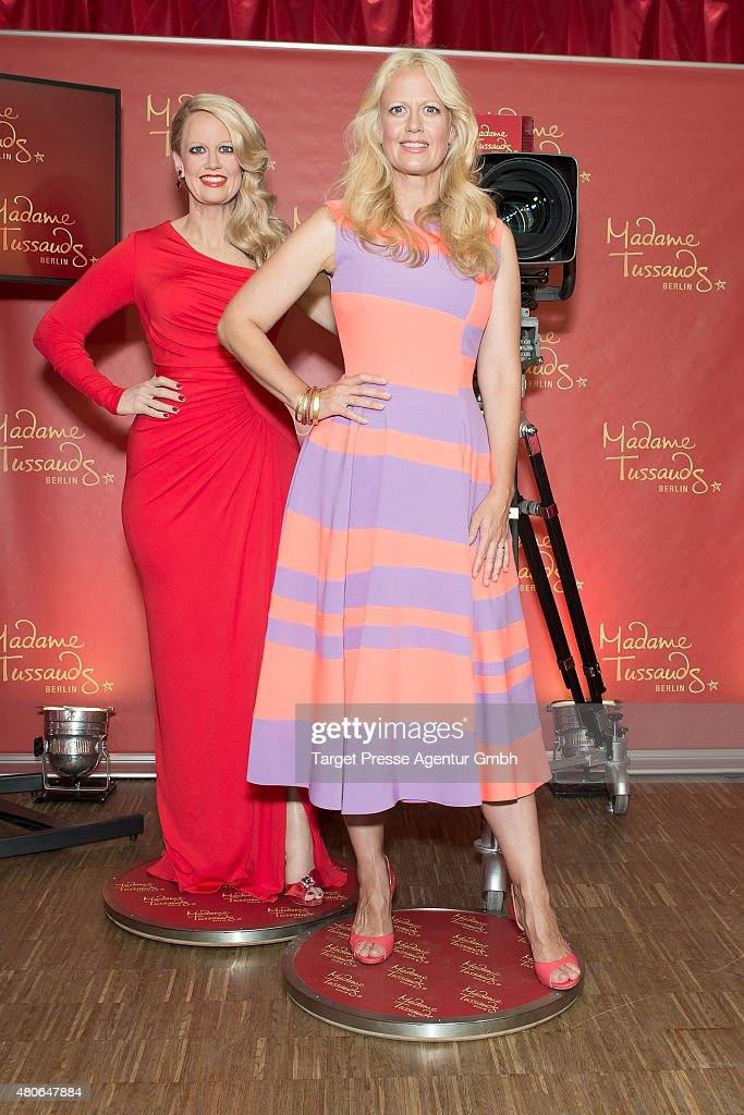 Barbara Schoeneberger Presents Her Wax Figure For Madame Tussauds Berlin