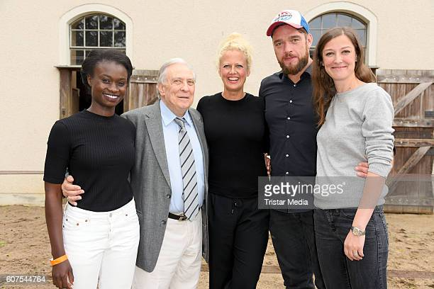 Barbara Schoeneberger Valentin Platareanu Alexandra Maria Lara Lorna Ishema and Ronald Zehrfeld attend the 'Talk About Homeland' during the...