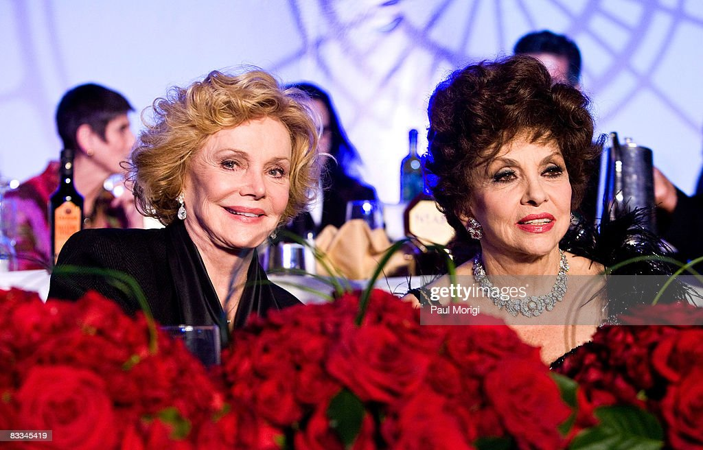 Barbara Sinatra and Gina Lollobrigida at the National Italian American Foundation (NIAF) 33rd Anniversary Awards at the Hilton Washington and Towers on October 18, 2008 in Washington, DC.