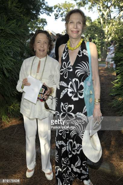 Barbara Slifka and Junia Doan attend Paradiso The 17th Annual Watermill Summer Benefit 2010 at Watermill Center on July 24 2010