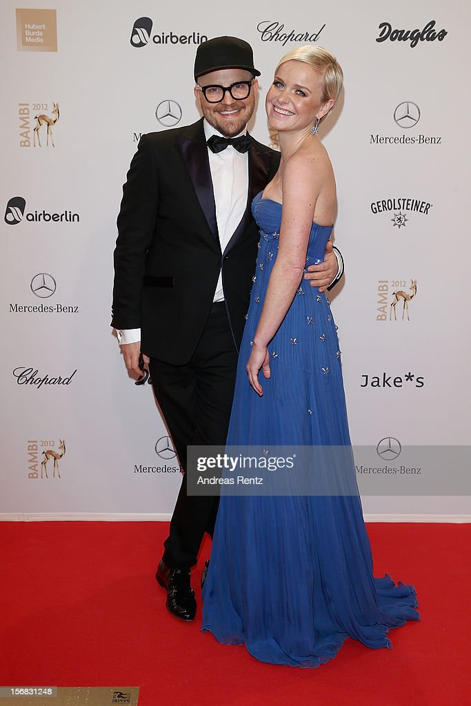 Barbara Sturm and Armin Morbach attend 'BAMBI Awards 2012' at the Stadthalle Duesseldorf on November 22, 2012 in Duesseldorf, Germany.