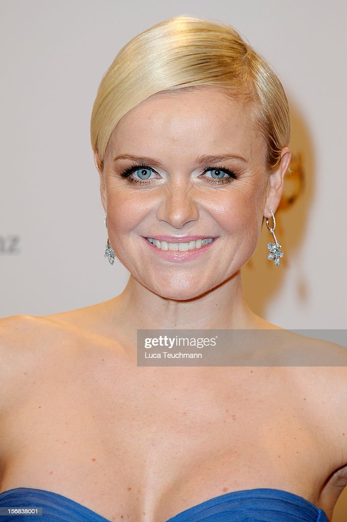Barbara Sturm attends 'BAMBI Awards 2012' at the Stadthalle Duesseldorf on November 22, 2012 in Duesseldorf, Germany.