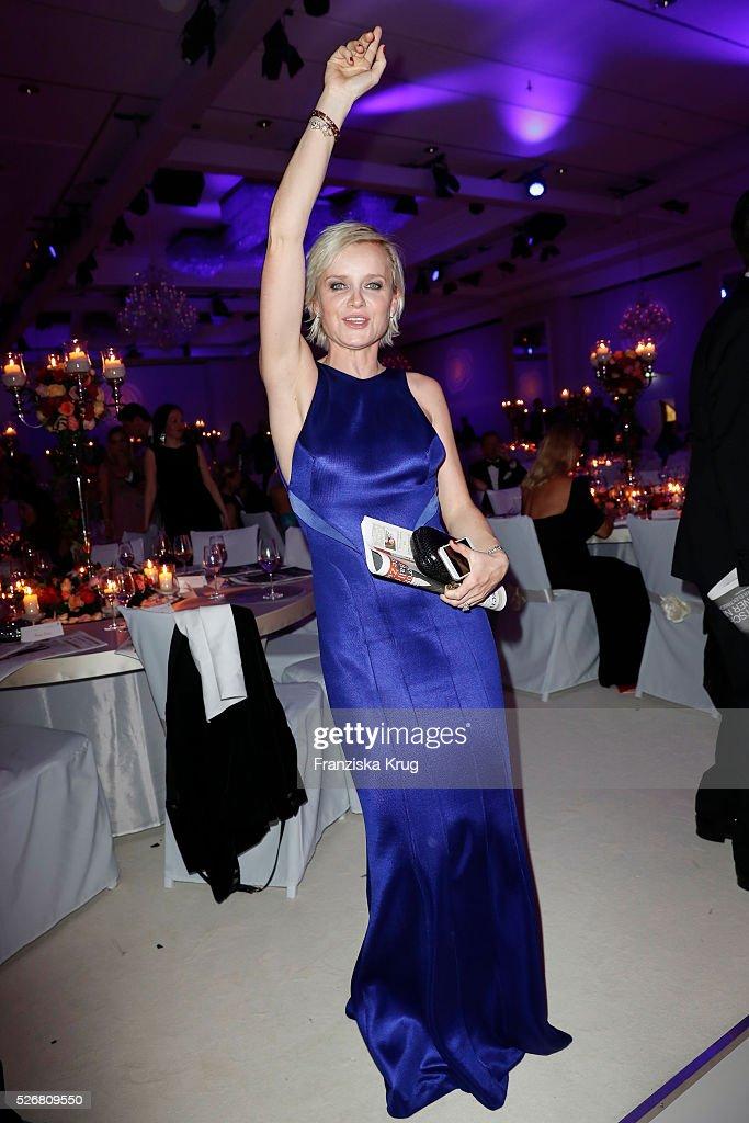 Barbara Sturm attends the Rosenball 2016 on April 30, 2016 in Berlin, Germany.