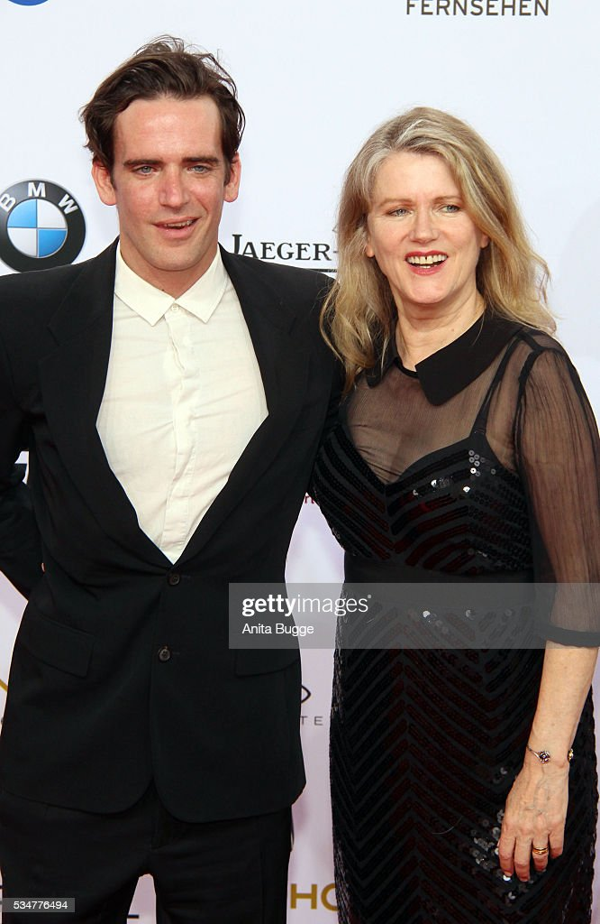 <a gi-track='captionPersonalityLinkClicked' href=/galleries/search?phrase=Barbara+Sukowa&family=editorial&specificpeople=2843188 ng-click='$event.stopPropagation()'>Barbara Sukowa</a> and her son Viktor Olbrychski attend the Lola - German Film Award (Deutscher Filmpreis) on May 27, 2016 in Berlin, Germany.