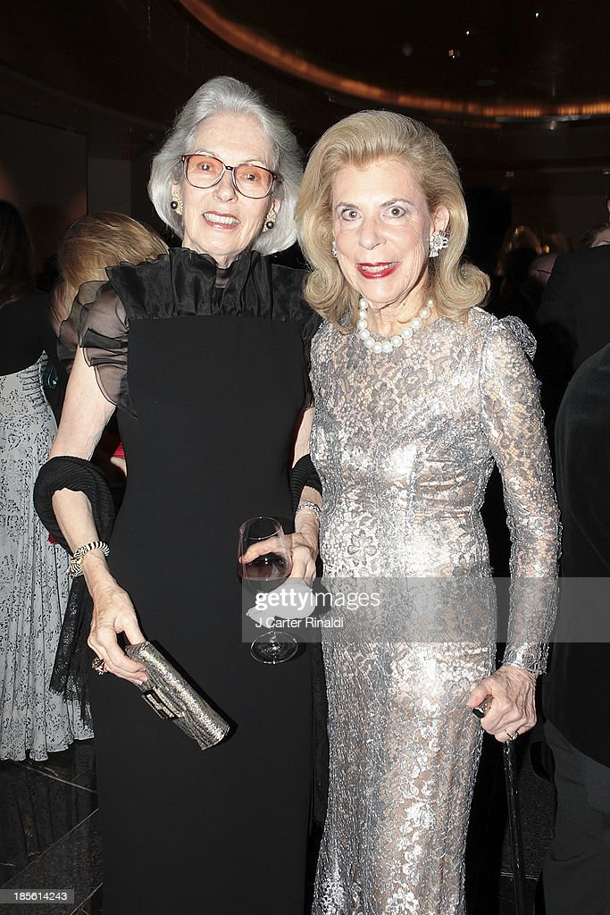 Barbara Tober and Frannie Scarfe attend the Casita Maria's 2013 Fiesta gala at Mandarin Oriental Hotel on October 22, 2013 in New York City.