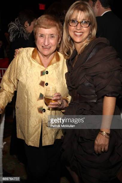 Barbara Tober and Louise Chazen Banon attend MAD's Visionaries 2009 Gala at Mandarin Oriental on November 17 2009 in New York