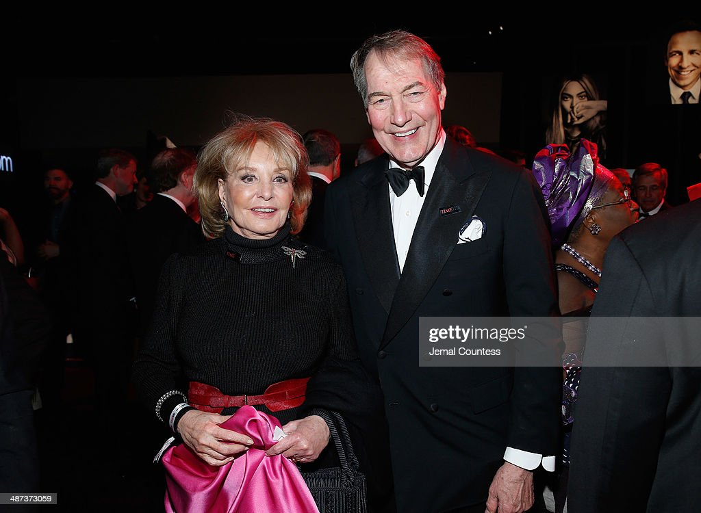 <a gi-track='captionPersonalityLinkClicked' href=/galleries/search?phrase=Barbara+Walters&family=editorial&specificpeople=201871 ng-click='$event.stopPropagation()'>Barbara Walters</a> and <a gi-track='captionPersonalityLinkClicked' href=/galleries/search?phrase=Charlie+Rose&family=editorial&specificpeople=535420 ng-click='$event.stopPropagation()'>Charlie Rose</a> attend the TIME 100 Gala, TIME's 100 most influential people in the world, at Jazz at Lincoln Center on April 29, 2014 in New York City.
