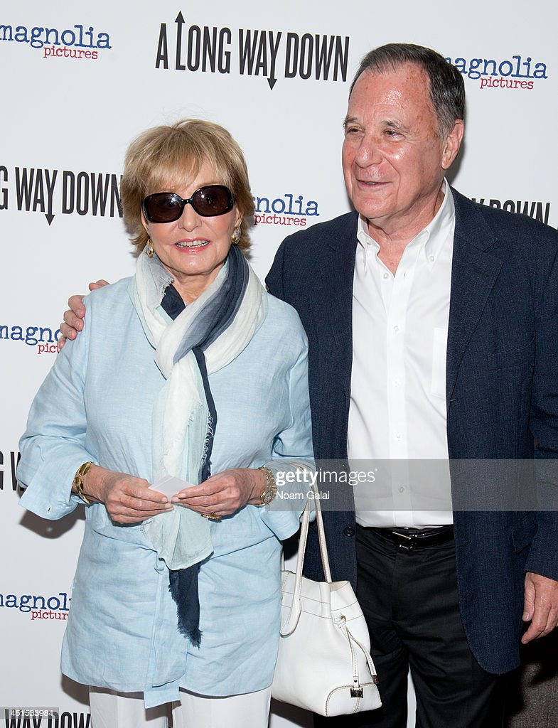 <a gi-track='captionPersonalityLinkClicked' href=/galleries/search?phrase=Barbara+Walters&family=editorial&specificpeople=201871 ng-click='$event.stopPropagation()'>Barbara Walters</a> and Dan Gillerman attend the 'A Long Way Down' New York Premiere at City Cinemas 123 on June 30, 2014 in New York City.