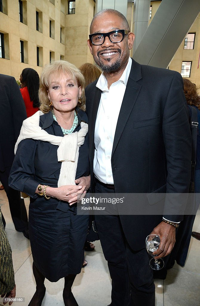 <a gi-track='captionPersonalityLinkClicked' href=/galleries/search?phrase=Barbara+Walters&family=editorial&specificpeople=201871 ng-click='$event.stopPropagation()'>Barbara Walters</a> and <a gi-track='captionPersonalityLinkClicked' href=/galleries/search?phrase=Forest+Whitaker&family=editorial&specificpeople=226590 ng-click='$event.stopPropagation()'>Forest Whitaker</a> attend the O, The Oprah Magazine's special advance screening of 'Lee Daniels' The Butler' at The Hearst Tower on July 31, 2013 in New York City.