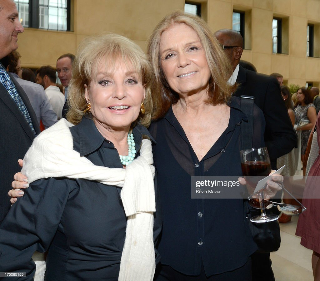 <a gi-track='captionPersonalityLinkClicked' href=/galleries/search?phrase=Barbara+Walters&family=editorial&specificpeople=201871 ng-click='$event.stopPropagation()'>Barbara Walters</a> and <a gi-track='captionPersonalityLinkClicked' href=/galleries/search?phrase=Gloria+Steinem&family=editorial&specificpeople=213078 ng-click='$event.stopPropagation()'>Gloria Steinem</a> attend the O, The Oprah Magazine's special advance screening of 'Lee Daniels' The Butler' at The Hearst Tower on July 31, 2013 in New York City.