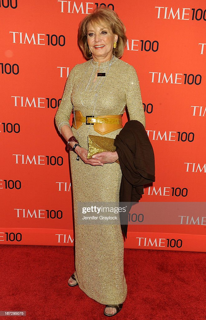 Barbara Walters attends the 2013 Time 100 Gala at Frederick P. Rose Hall, Jazz at Lincoln Center on April 23, 2013 in New York City.