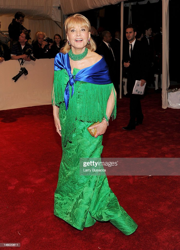 Barbara Walters attends the 'Alexander McQueen: Savage Beauty' Costume Institute Gala at The Metropolitan Museum of Art on May 2, 2011 in New York City.