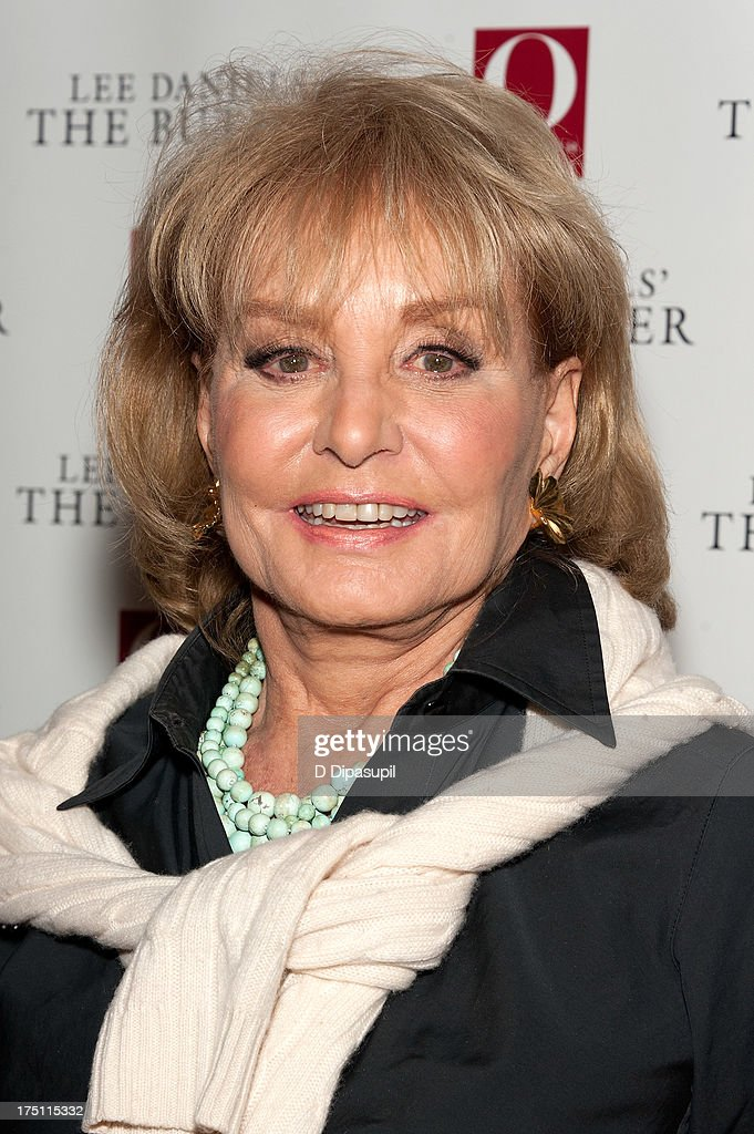 Barbara Walters attends 'The Butler' screening at Hearst Tower on July 31, 2013 in New York City.