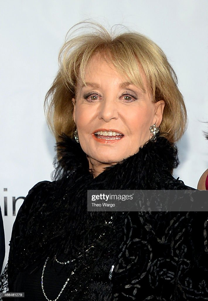 <a gi-track='captionPersonalityLinkClicked' href=/galleries/search?phrase=Barbara+Walters&family=editorial&specificpeople=201871 ng-click='$event.stopPropagation()'>Barbara Walters</a> attends the Great American Songbook event honoring Bryan Lourd at Alice Tully Hall on February 10, 2014 in New York City.