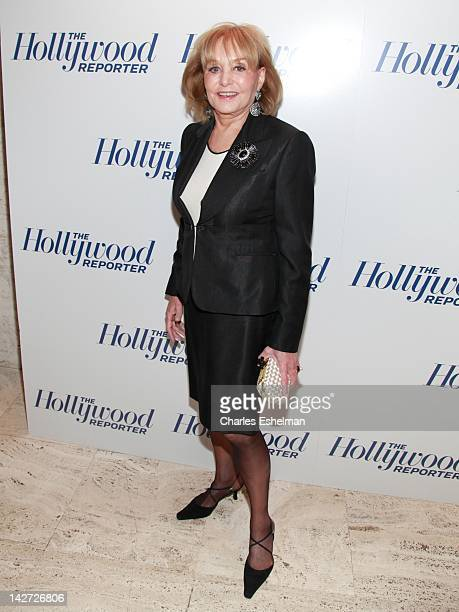 Barbara Walters attends the Hollywood Reporter celebrates 'The 35 Most Powerful People in Media' at the Four Season Grill Room on April 11 2012 in...