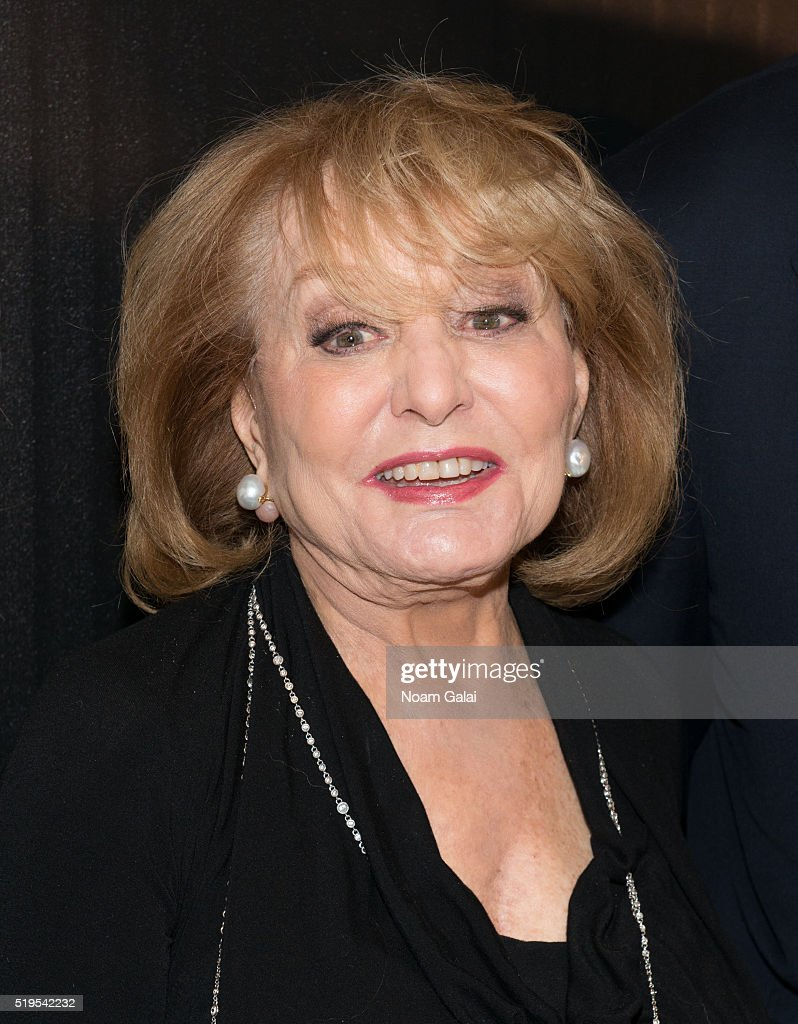 Barbara Walters attends The Hollywood Reporters 2016 35 Most Powerful ...