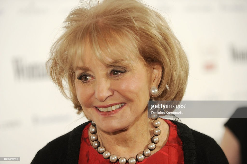 <a gi-track='captionPersonalityLinkClicked' href=/galleries/search?phrase=Barbara+Walters&family=editorial&specificpeople=201871 ng-click='$event.stopPropagation()'>Barbara Walters</a> attends Woman's Day Red Dress Awards & Campbell's AdDress Your Heart at Jazz at Lincoln Center on February 8, 2011 in New York City.