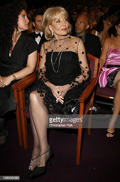 Barbara Walters during 34th Annual Daytime Emmy Awards Backstage and Audience at Kodak Theatre in Hollywood California United States