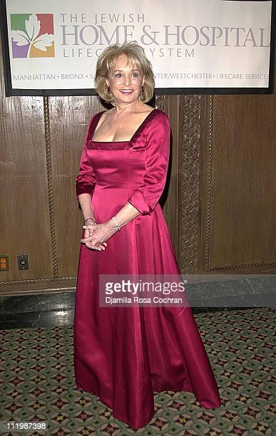 Barbara Walters during 'Night Magic' An Evening Honoring the Eisner Family Jewish Home Hospital Lifecare System at Cipriani in New York New York...