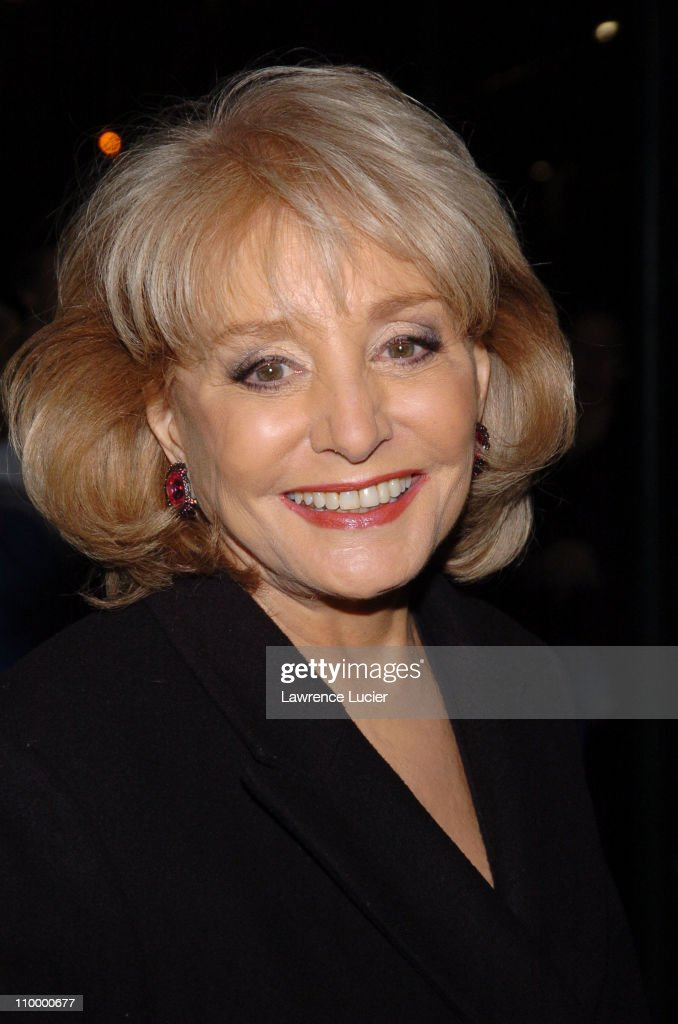 Barbara Walters during Rachel Bilson and Barbara Walters Visit The ...