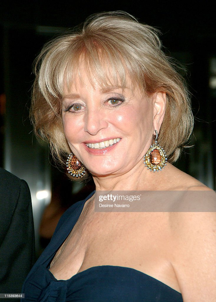 Barbara Walters during The 37th Annual Party in the Garden - Honoring David Rockefeller's 90th Birthday at The Museum of Modern Art in New York City, New York, United States.