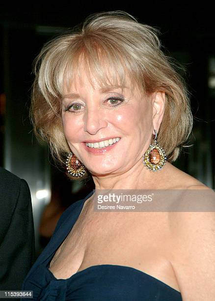 Barbara Walters during The 37th Annual Party in the Garden Honoring David Rockefeller's 90th Birthday at The Museum of Modern Art in New York City...
