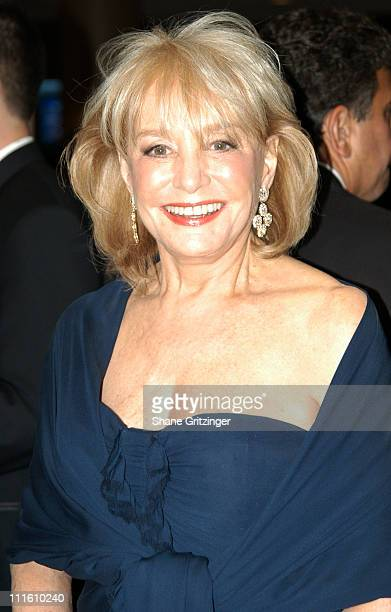 Barbara Walters during The National Multiple Sclerosis Society NYC Chapter Dinner of Champions To Honor Beverly Sills Greenough and Seth Waugh at New...