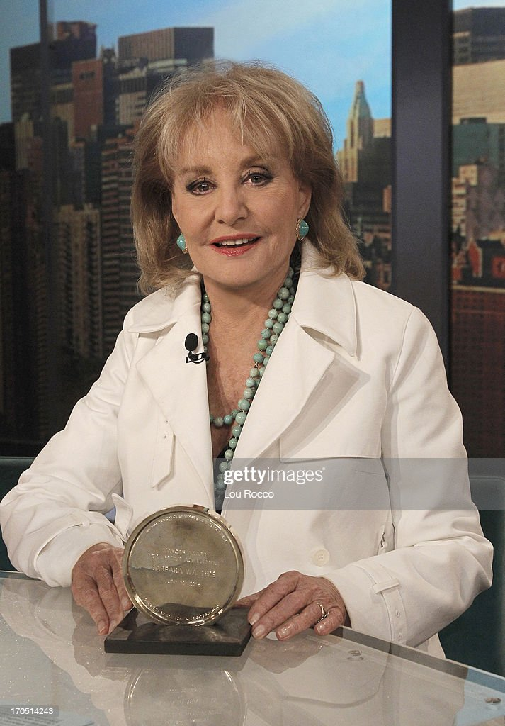 THE VIEW - Barbara Walters received this years 'Made in NY' Mayor's Award for Lifetime Achievement. 'The View' airs Monday-Friday (11:00 am-12:00 pm, ET) on the ABC Television Network. WALTERS
