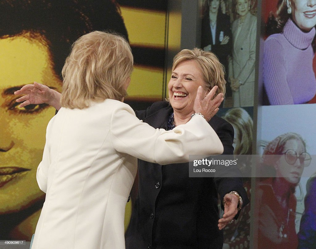 THE VIEW - Barbara Walters says farewell to live daily television with her final co-host appearance on The View, the daytime program she created for ABC airing Friday, May 16, 2014. 'The View' airs Monday-Friday (11:00 a.m.- 12 noon, ET) on the ABC Television Network.