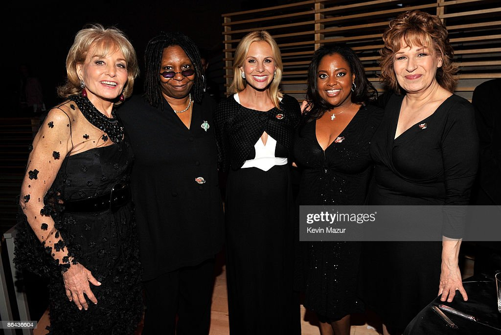 Barbara Walters, Whoopi Goldberg, Elizabeth Hasselbeck, Sherri Shepherd and Joy Behar attends the Time's 100 Most Influential People in the World Gala at Rose Hall - Jazz at Lincoln Center on May 5, 2009 in New York City.