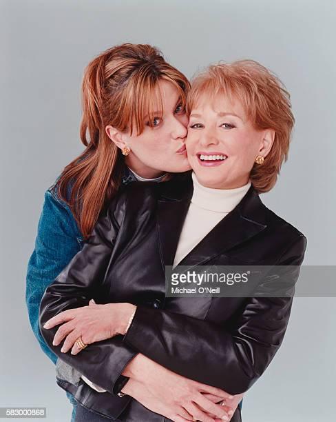 Barbara Walters (left) with her daughter Jackie Danforth.